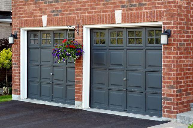 Bezpieczna brama garażowa