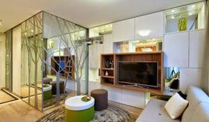 Piękne wnętrza to... ekologiczne wnętrza! Małe mieszkanie z pomysłem