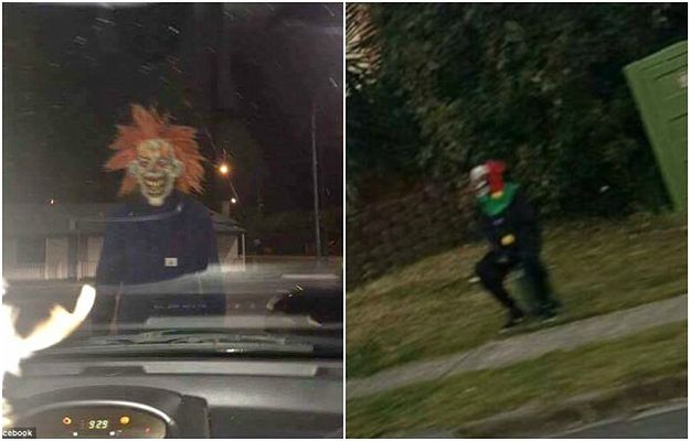 Mieszkańców Australii terroryzują... klauny