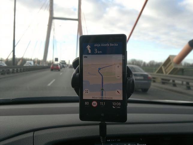 GPS zamontowany w nawigacji może pomóc w potwierdzeniu niewinności kierowcy