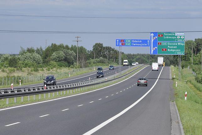 Autostrada A6 łączy Szczecin z Berlinem