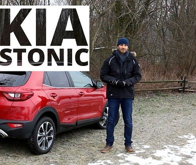 Kia Stonic 1.4 DOHC 100 KM, 2018 - test AutoCentrum.pl #376