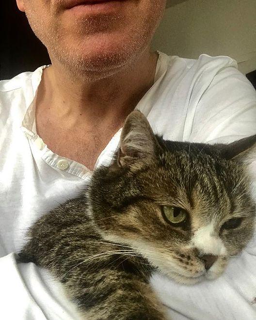 Dziennikarz opowiedział o swojej kotce Afonii