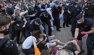 Warszawa. 48 osób zatrzymanych po protestach w obronie aktywistki Margot (zdjęcie ilustracyjne)