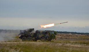 Wieloprowadnicowa wyrzutnia rakietowa 122 mm Langusta