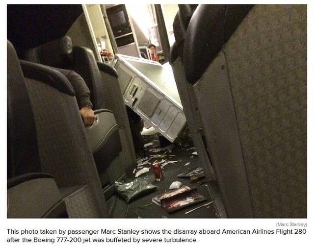 Boeing 777 wpadł w turbulencje. 5 osób rannych!