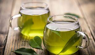 Zielona herbata to skuteczna pomoc w odchudzaniu.