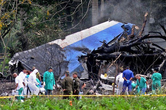 Większość pasażerów samolotu stanowili Kubańczycy, a załogę - Meksykanie