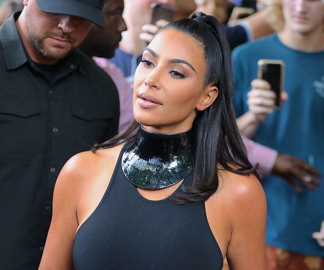 Kim Kardashian wystąpiła w programie rozrywkowym