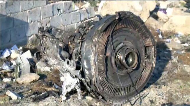Iran. Samolot Boeing 737 rozbił się pod Teheranem. Zobacz wideo z miejsca katastrofy