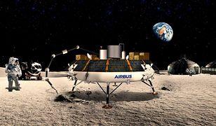 Airbus ROXY zamienia pył księżycowy na tlen
