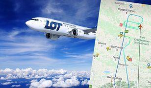Boeing 737 MAX PLL LOT zderzył się z ptakiem