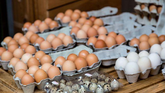 Poza jajkami kurzymi jest całkiem duży wybór