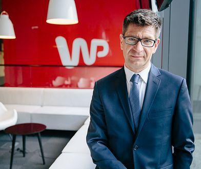 Marek Kacprzak, dziennikarz WP.