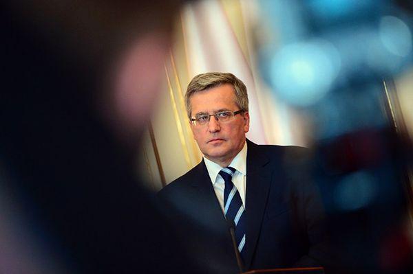 """Zdecydowany głos Komorowskiego. """"Powinno się ograniczyć prawo do weta Rosji w RB ONZ"""""""