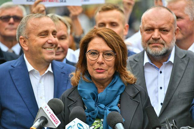 Wybory parlamentarne 2019. Małgorzata Kidawa-Błońska (kandydatka KO na premiera)