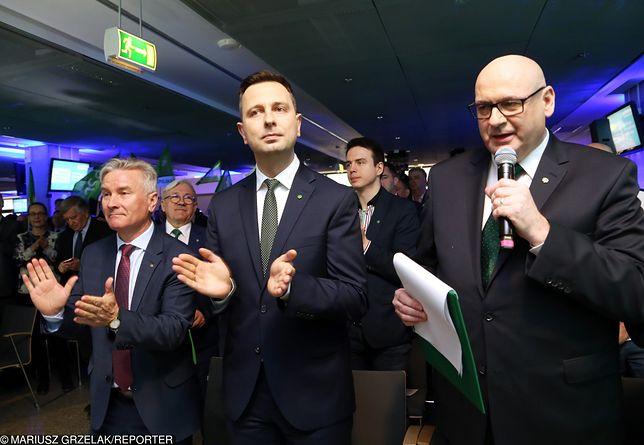 Wybory do Parlamentu Europejskiego. Od prawej: Piotr Zgorzelski i Władysław Kosiniak-Kamysz