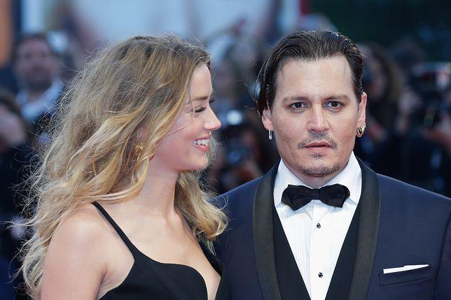 Amber Heard i Johnny Depp za czasów małżeństwa.