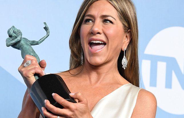 Jennifer Aniston cieszy się z wygranej