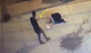 Świadkowie pobicia robili zdjęcia poszkodowanej.