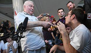 Były prezydent w Sejmie u protestujących