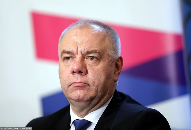 Wicepremier Jacek Sasin (PiS)