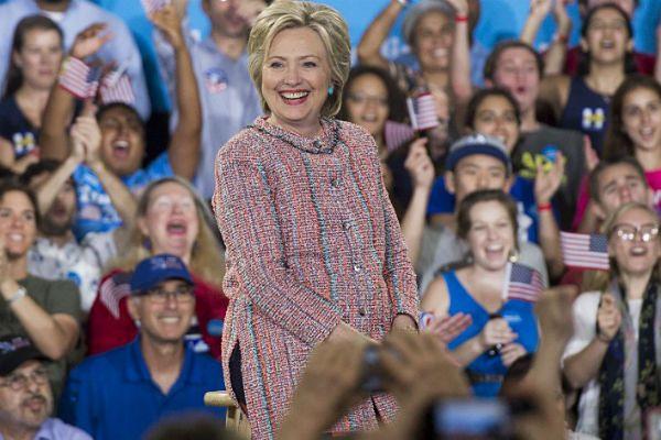 Hillary Clinton otrzymała nominację na prezydenta