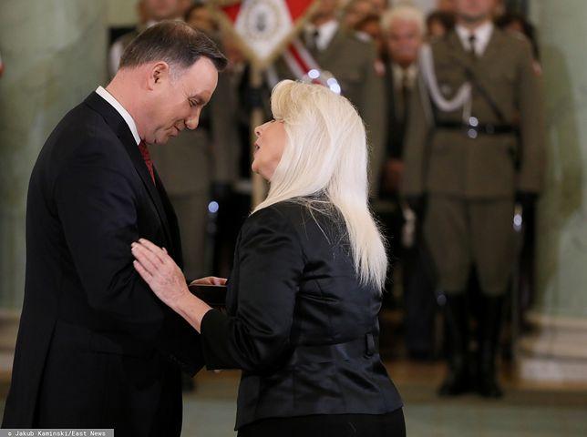 Rita Cosby została odznaczona przez prezydenta Dudę Orderem Orła Białego