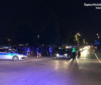 Katowice. Policja zapobiegła nielegalnym wyścigom w centrum miasta. Skontrolowano 400 samochodów
