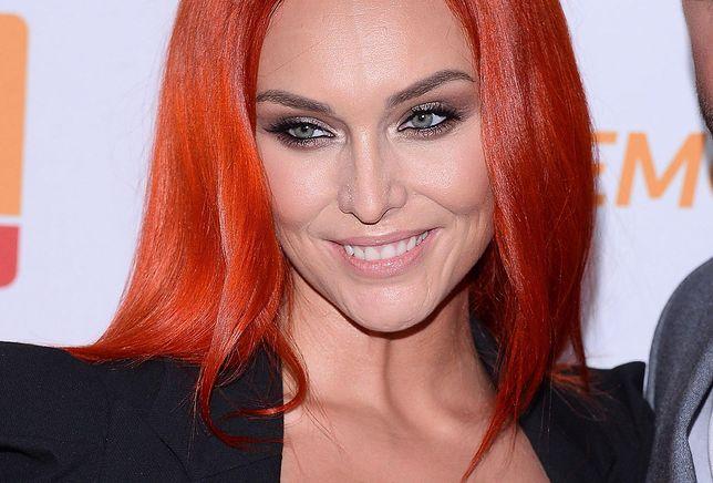 Joanna Lazer, czyli Ruda z Red Lips, zmieniła kolor włosów
