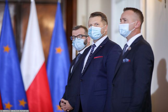 Przemysław Czarnek w KPRM