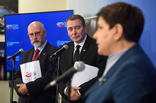 """Premier Beata Szydło na konferencji poświeconej kampanii """"Sprawiedliwe sądy"""""""