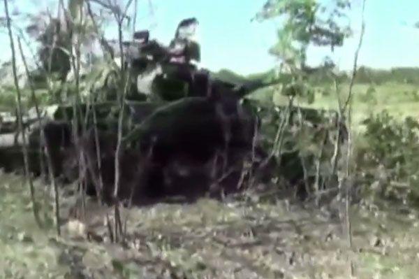 Dokumenty z Czeczenii w zniszczonych czołgach z Rosji