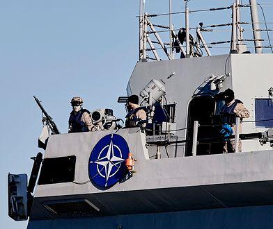"""Hiszpańska fregata ESPS """"Juan de Borbon"""" w porcie w Gdyni"""