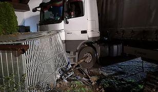 Kierowca ciężarówki był pod wpływem narkotyków