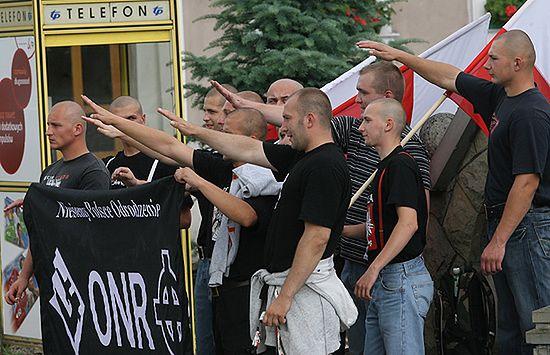 RPO: w Myślenicach ONR propagowało faszyzm