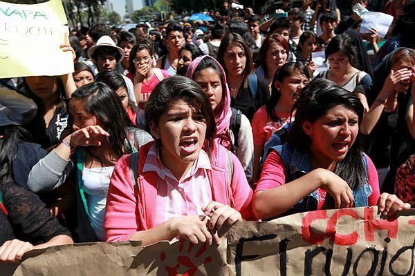 Tysiące osób domagało się wyjaśnienia sprawy od władz Meksyku