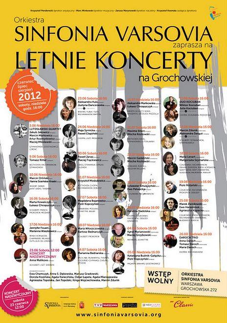 ZA DARMO: Letnie koncerty Sinfonia Varsovia