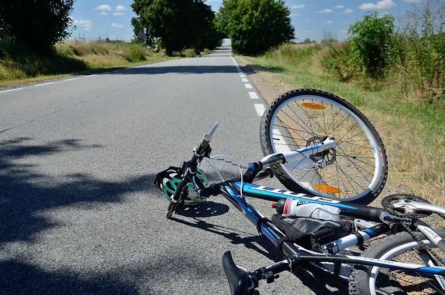 Warszawa. Doszło do wypadku z udziałem rowerzysty [zdj. ilustracyjne]
