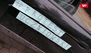 """Protest uczniowski w całej Polsce. Młodzi mówią rządzącym """"dość"""""""