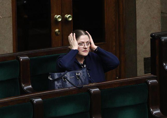 Krystyna Pawłowicz znowu o piłce nożnej. Tym razem na celowniku polski sędzia