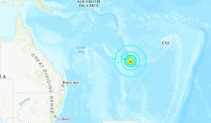 Silne trzęsienie ziemi na Pacyfiku. Jest ostrzeżenie przed tsunami