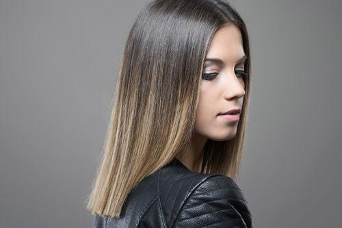 Jaka fryzura dla włosów ombre?