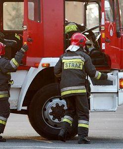 Pożar na parkingu w Gdańsku. Ewakuowano klientów Galerii