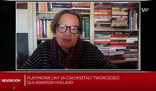 Agnieszka Holland o sytuacji na granicy: nie powinny mieć miejsca w demokratycznym państwie