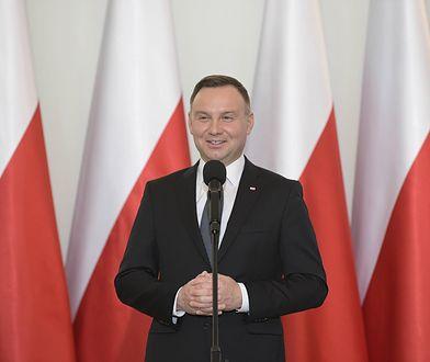 Prezydent Andrzej Duda nadał stopnie generalskie trzem oficerom Państwowej Straży Pożarnej