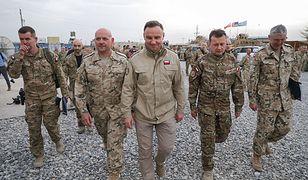 Wizyta Dudy w Polskim Kontyngencie Wojskowym w Afganistanie