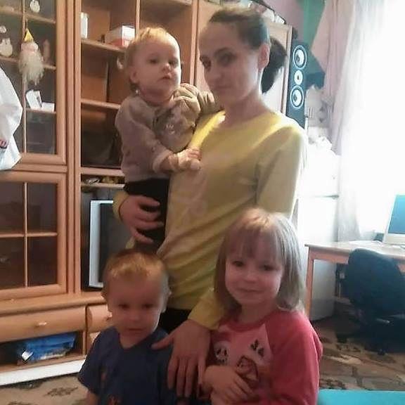 Pani Paulinie odebrano czwórkę dzieci. Na zdjęciu brakuje 11-tygodniowego Sebastiana.