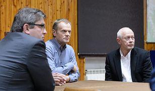 Donald Tusk i Michał Boni