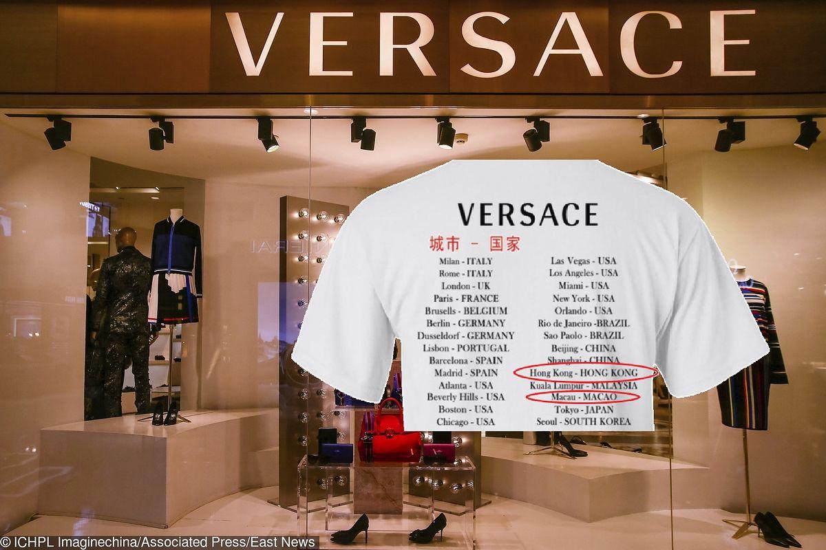 Versace przeprasza Chińczyków za kontrowersyjne koszulki